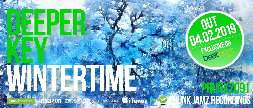 Deeper Key - Wintertime, Phunk Jamz Recordings